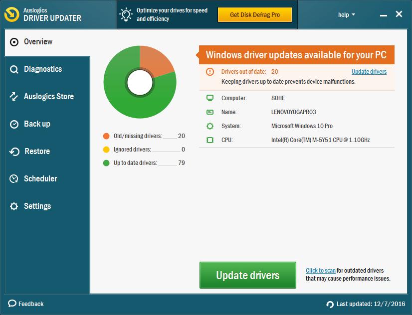 Auslogics Driver Updater Full indir