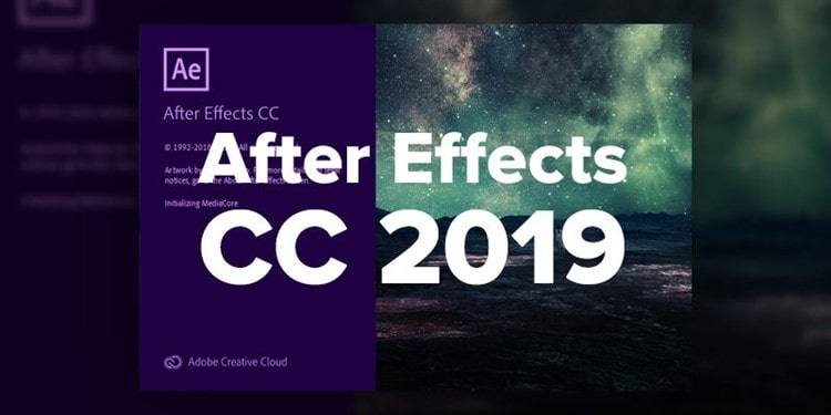 Adobe After Effects CC 2019 Full indir