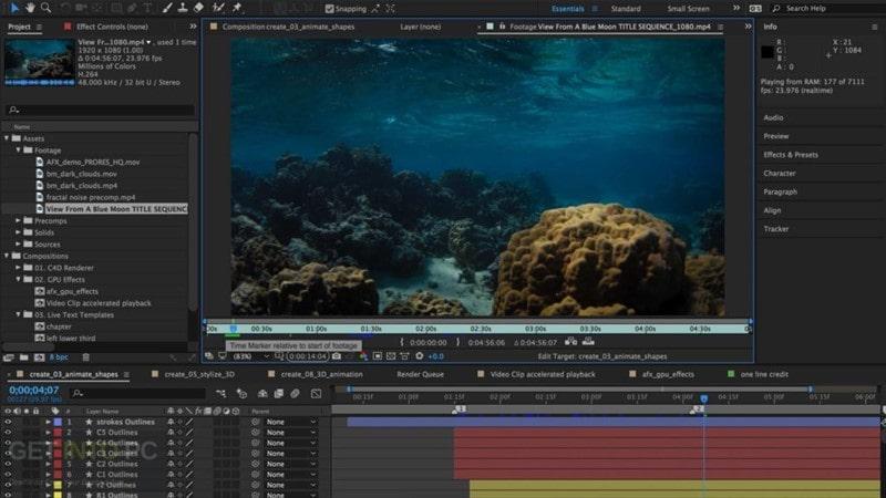 Adobe After Effects CC 2019 indir
