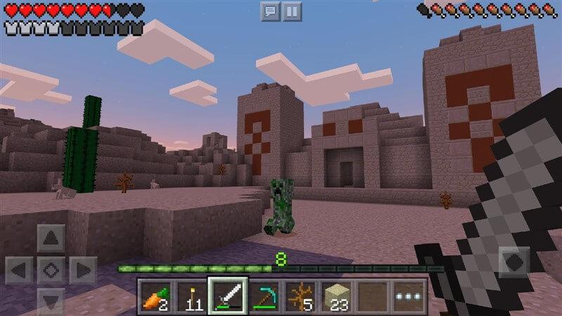 Minecraft Pocket Edition Hileli Mod Apk