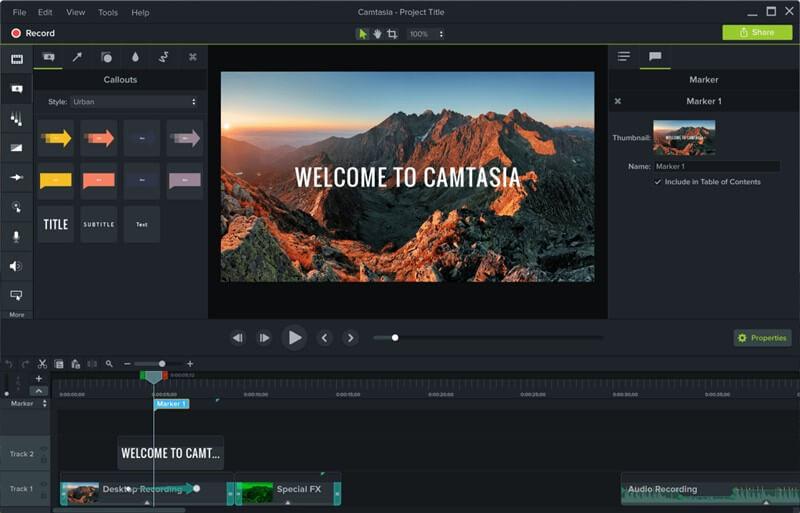 TechSmith Camtasia Studio indir