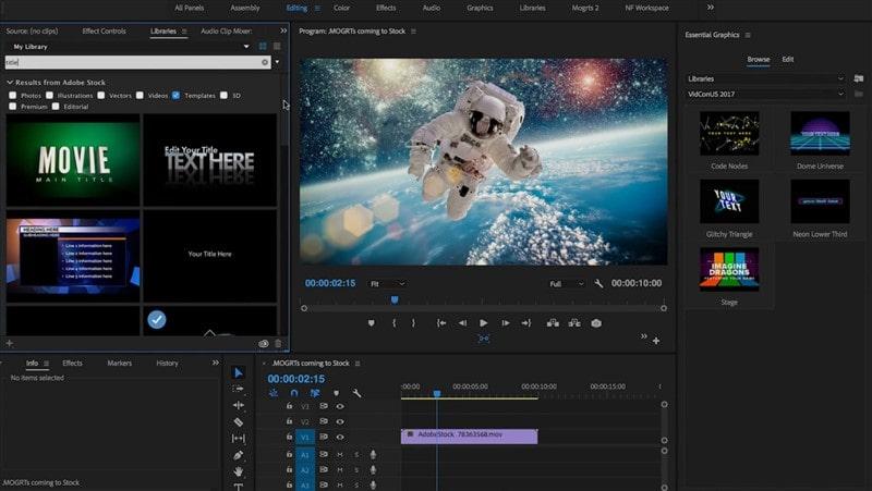 Adobe Premiere Pro CC 2019 indir