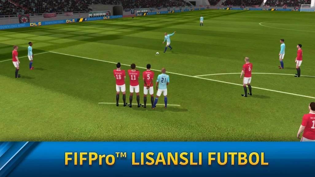 Dream League Soccer 2019 Hileli Mod Apk indir