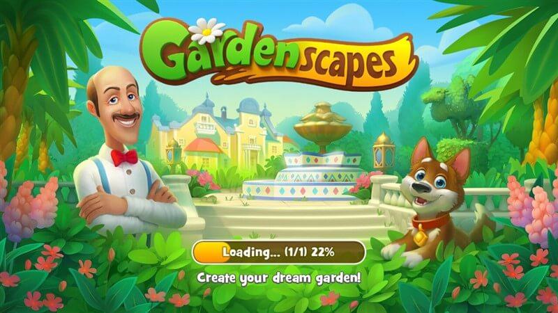 Gardenscapes hileli mod apk indir