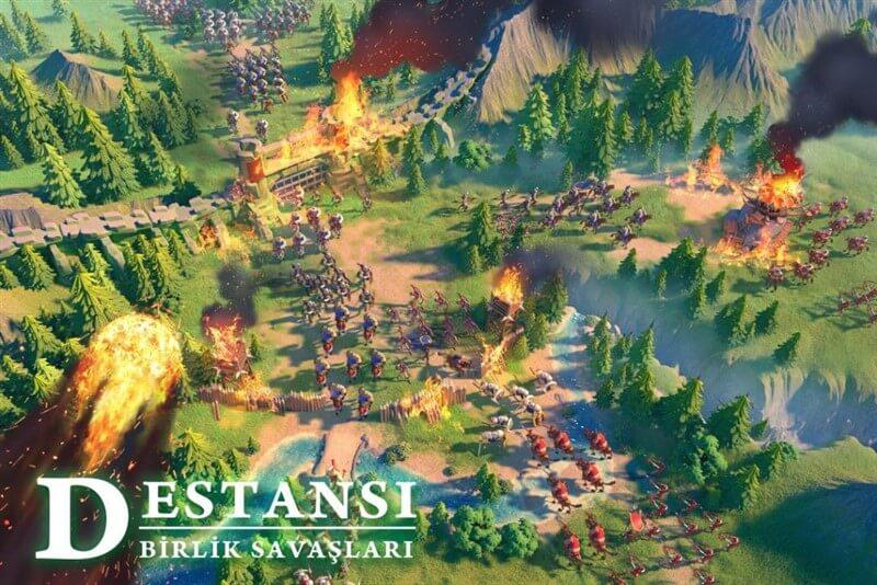 Rise of Kingdoms Hileli Mod Apk