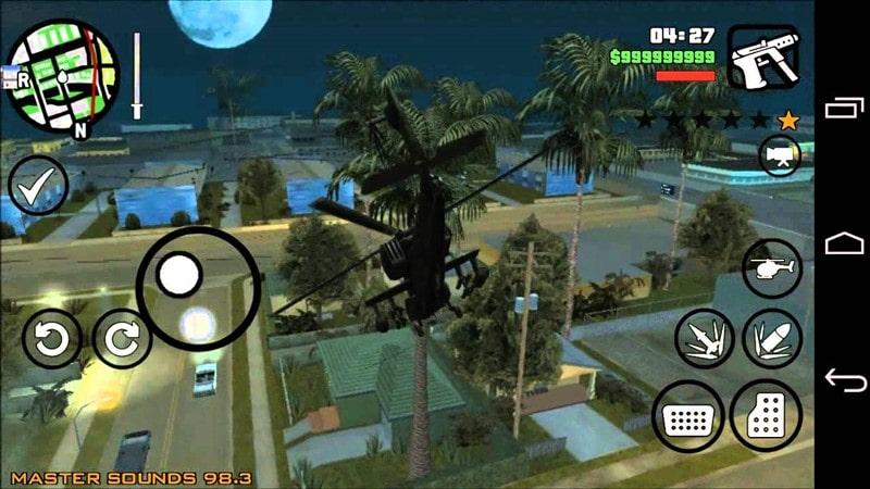 GTA San Andreas Hileli Mod Apk