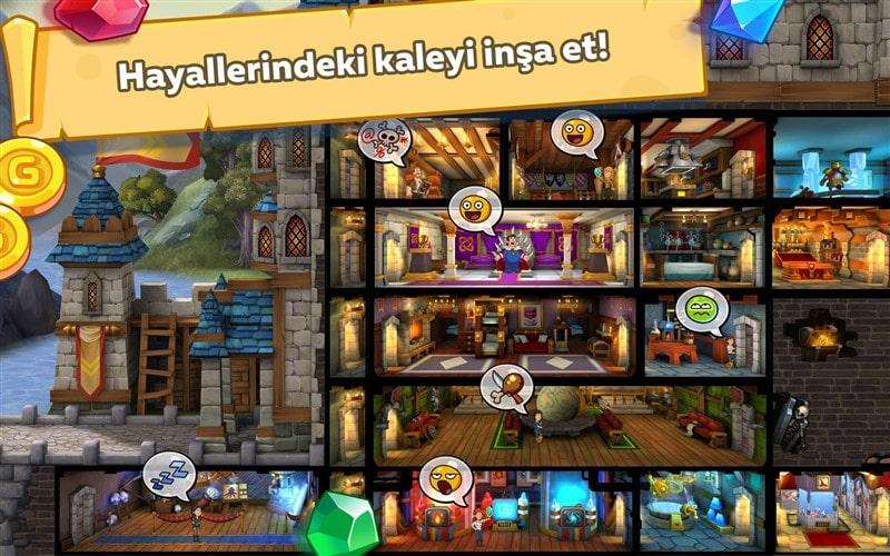 Hustle Castle - Kale ve Klan Hileli Mod Apk