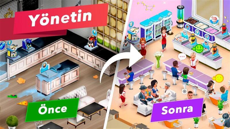 Kafem - Restoran Oyunu Hileli Mod Apk