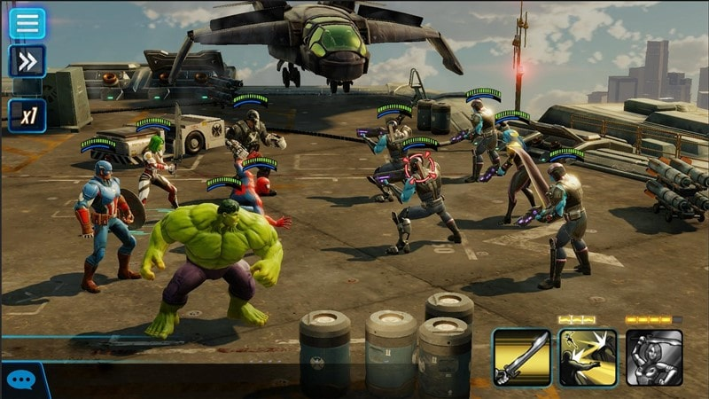 MARVEL Strike Force Hileli Mod Apk