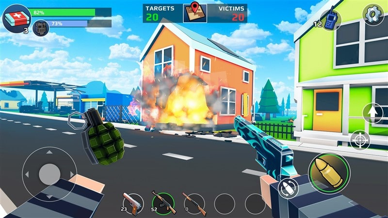 PIXEL'S UNKNOWN BATTLE GROUND Hileli Mod Apk İndir
