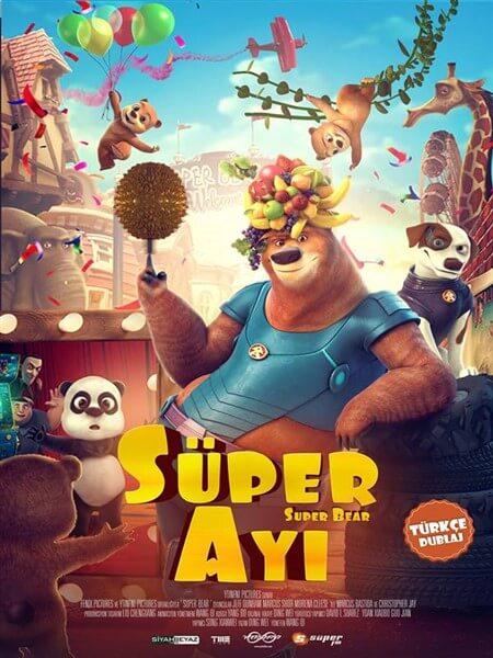 Süper Ayı - Super Bear Türkçe Dublaj İndir