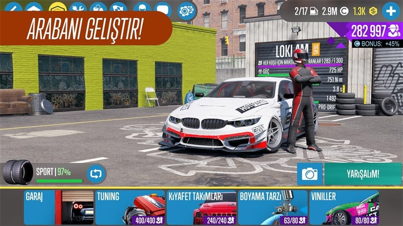 CarX Drift Racing 2 Hileli Mod Apk