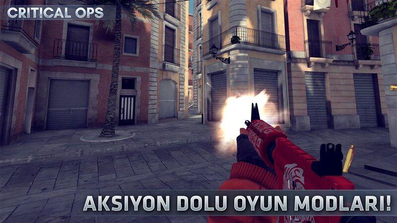 Critical Ops Hileli Mod Apk