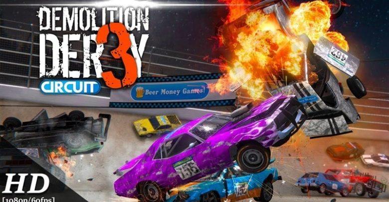 Demolition Derby 3 Hileli Apk İndir