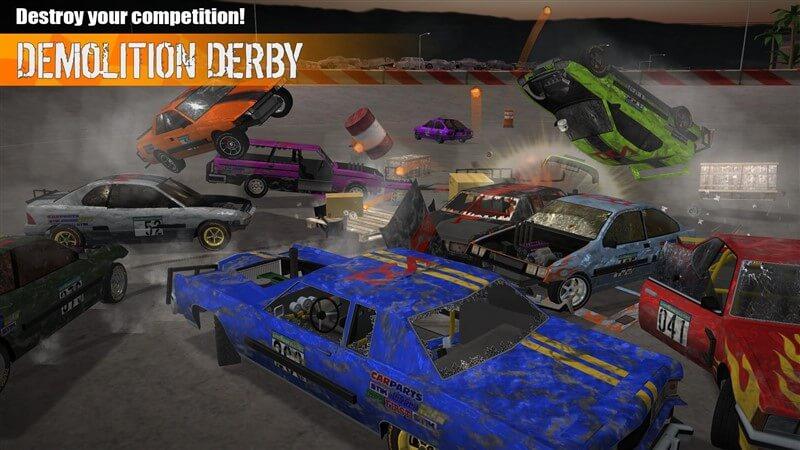 Demolition Derby 3 Hileli Mod Apk