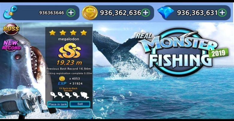 Monster Fishing 2020 Hileli Mod Apk İndir