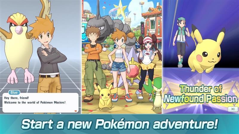 Pokémon Masters Apk İndir