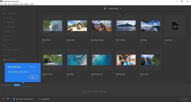 Adobe Premiere Rush CC İndir Full