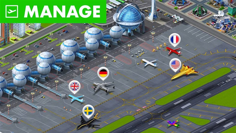 Airport City Hileli Mod Apk