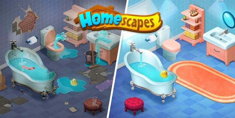 Homescapes Hileli Mod Apk