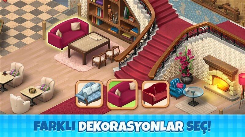 Manor Cafe Hileli Mod Apk