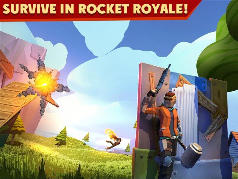 Rocket Royale Hileli Mod Apk İndir