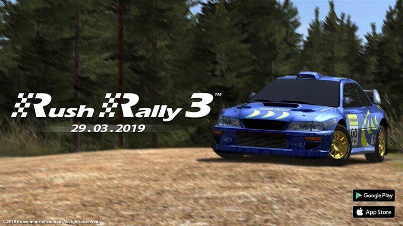 rush rally 3 hileli apk indir