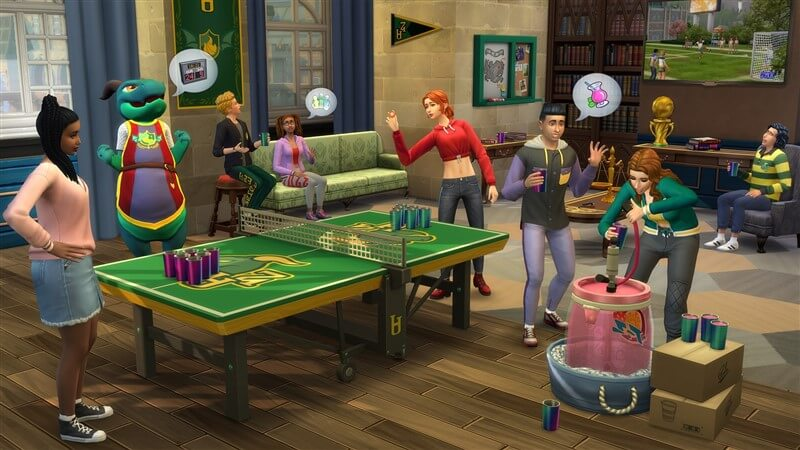 The Sims 4 Discover University İndir