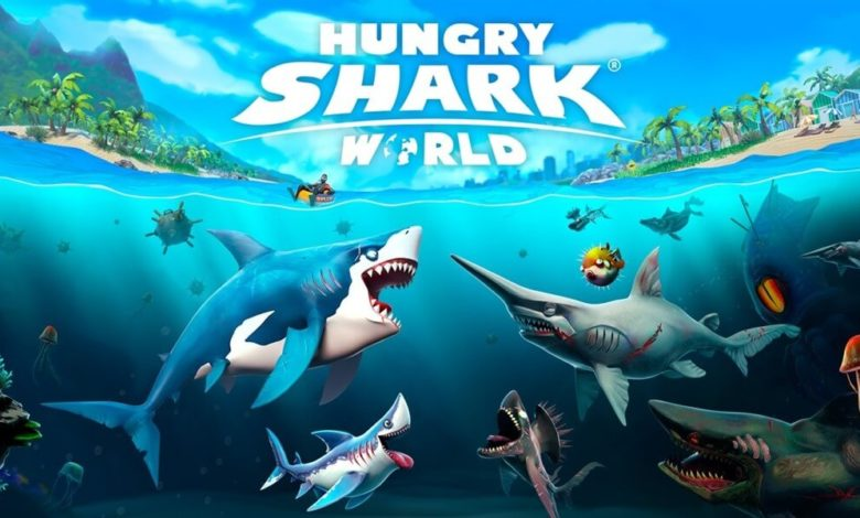 Hungry Shark World Hileli Apk İndir