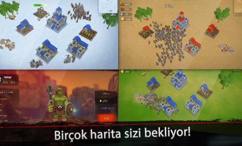 War of Kings Hileli Apk İndir