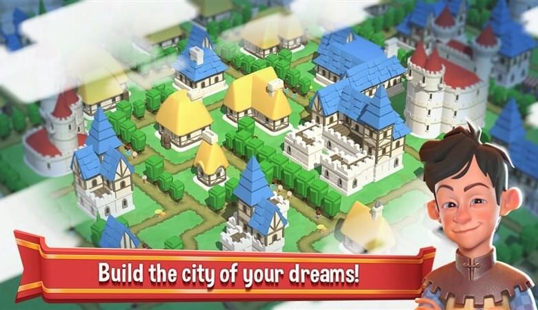 Crafty Town - Merge City Kingdom Builder Apk İndir
