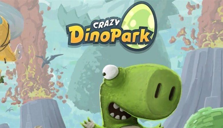 Crazy Dino Park Hileli Apk İndir