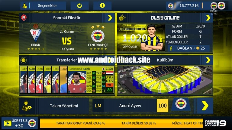 DLS 2020 Fenerbahçe Modu Apk İndir