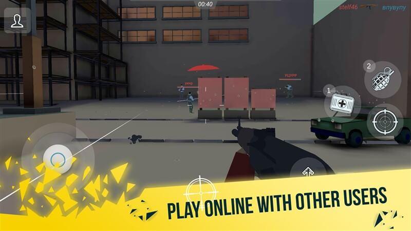 Mental Gun 3D Pixel Multiplayer Hileli Apk İndir