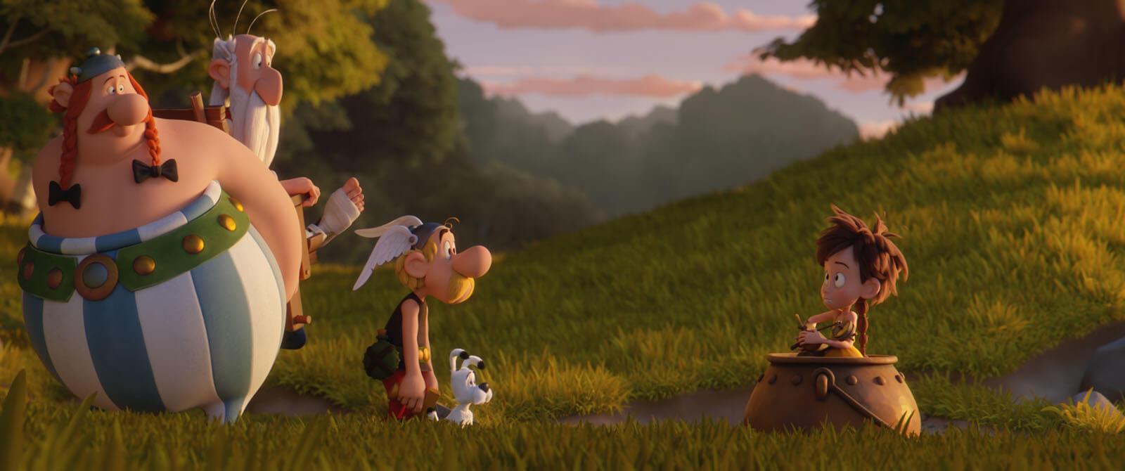 Asteriks Sihirli İksirin Sırrı İndir