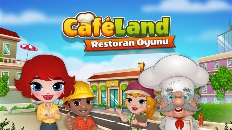 Cafeland – Restoran Oyunu  Hile Para Sınırsız Mod 2020 New