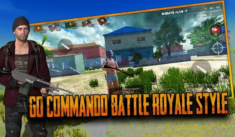 Free Survival Fire Battlegrounds Battle Royale Hileli Apk İndir