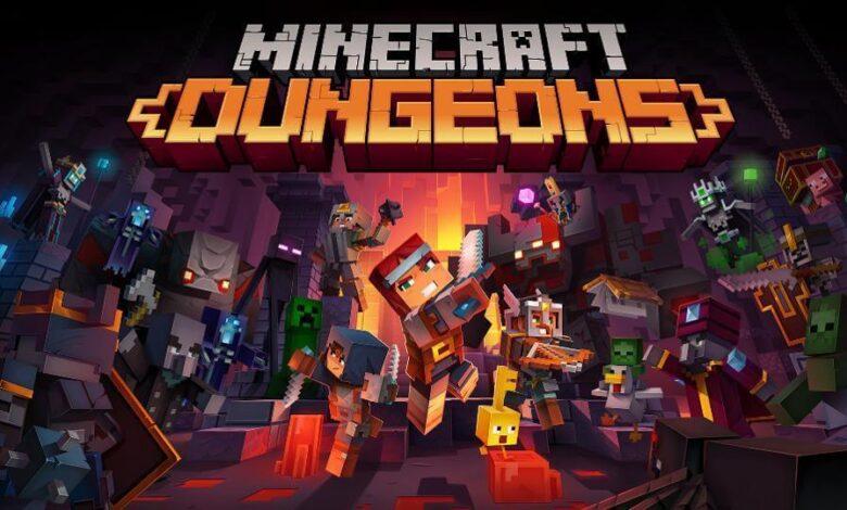 Minecraft Dungeons İndir Full