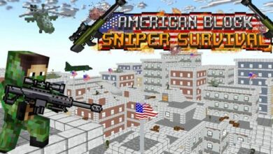 American Block Sniper Survival Hileli Apk İndir