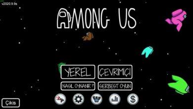 Among Us Türkçe Yama