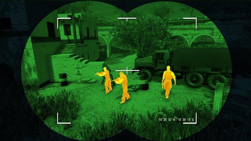 Keskin Nişancı 3D En İyi Nişan Atış Oyunu Hileli Apk