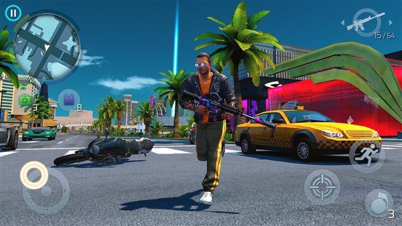 Vegas Gangsteri Hileli Apk İndir