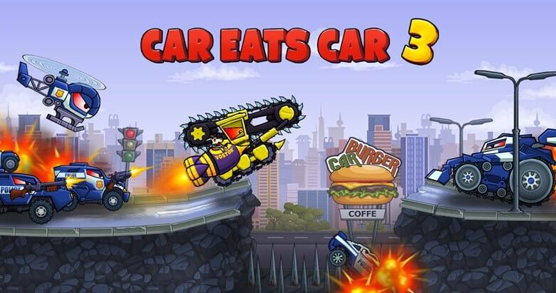 Car Eats Car 3 Hileli Apk İndir