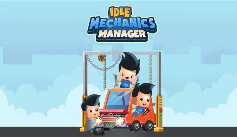 Idle Mechanics Manager Hileli Apk İndir