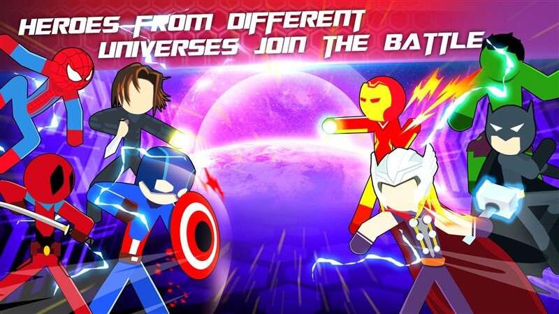 Super Stickman Heroes Fight Hileli Apk İndir
