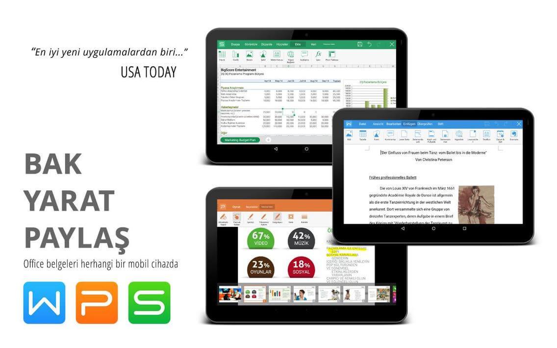 WPS Office + PDF Premium Apk İndir