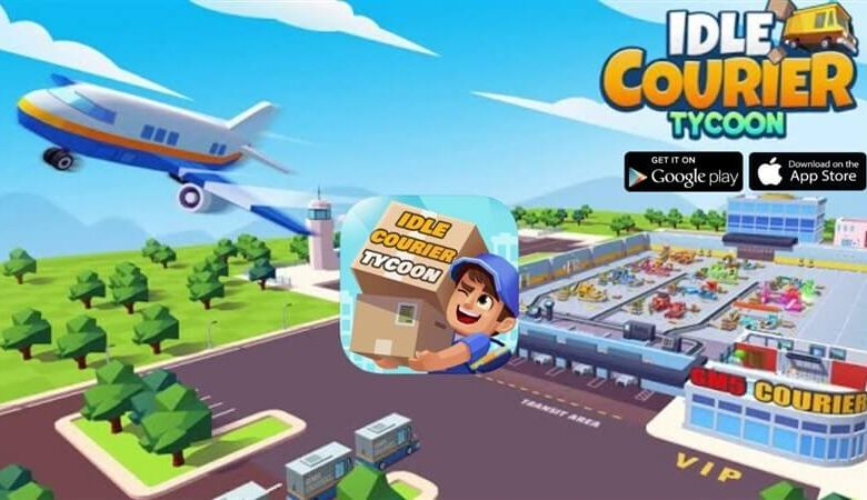 Idle Kurye Tycoon - 3D Business Manager Hileli Apk İndir